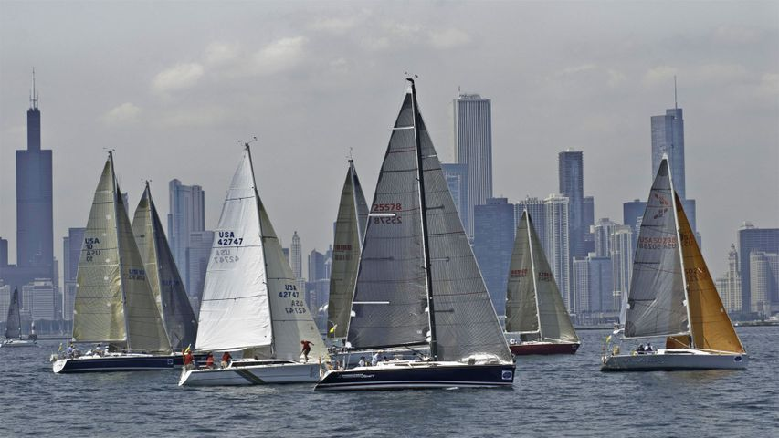 「シカゴ・ヨットクラブ・レース」米国イリノイ州, シカゴ