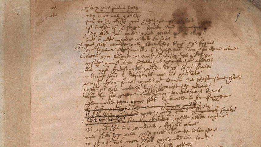 「サー・トマス・モアの原稿」イギリス, 大英博物館