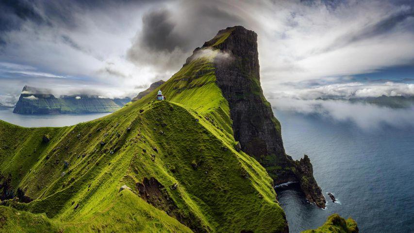 「カルーア灯台」デンマーク, ケァルソイ島