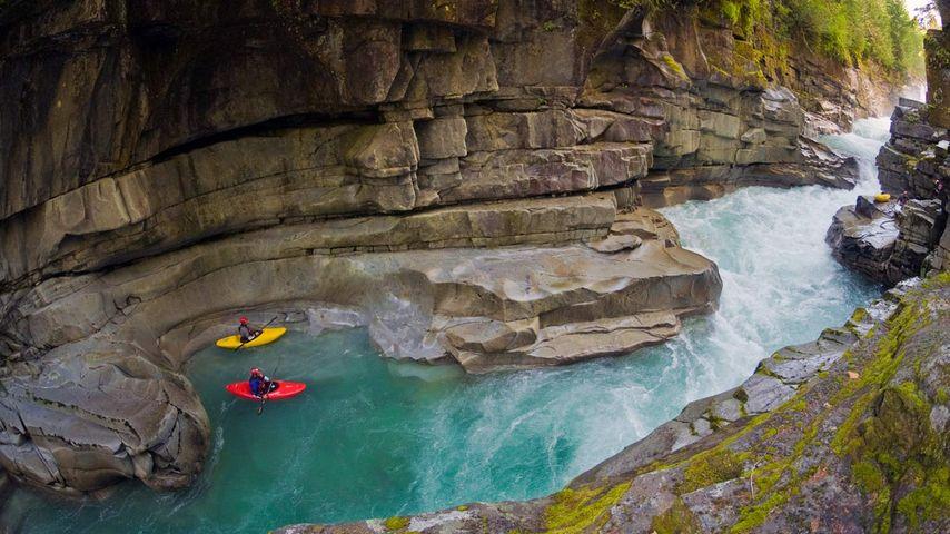「アシュル渓谷」カナダ, ブリティッシュコロンビア州