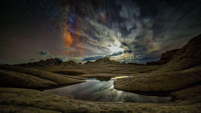 「ホワイトポケット」アメリカ, アリゾナ