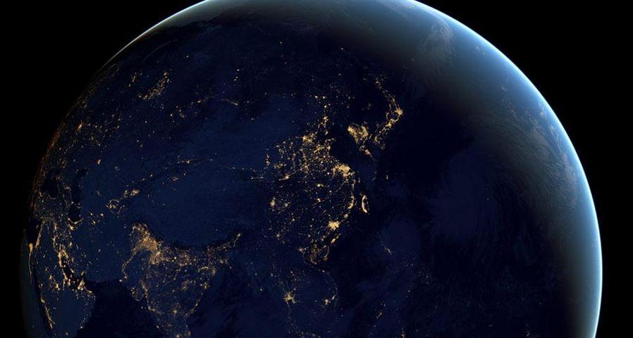 「宇宙から見た地球」NASA