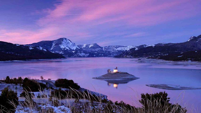 「セール・ポンソン湖の礼拝堂」フランス, オート=アルプ県