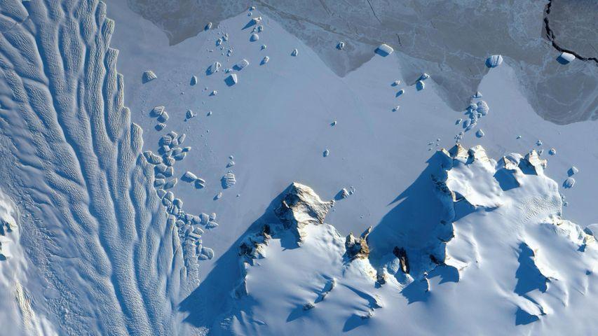 「マトセビッチ氷河」南極