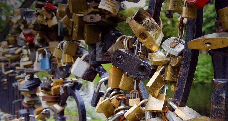 「リガ公園の誓いの鍵」ラトビア, リガ
