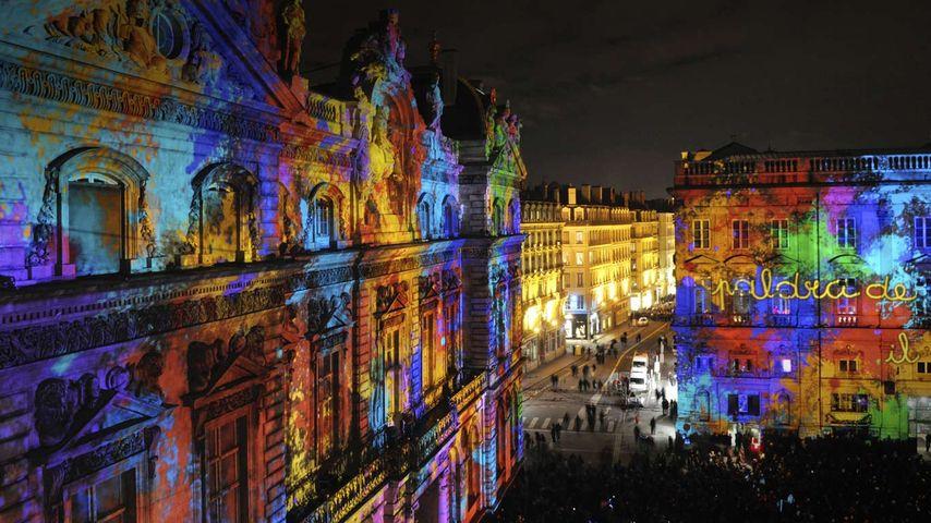 「ライトフェスティバル」フランス, リヨン