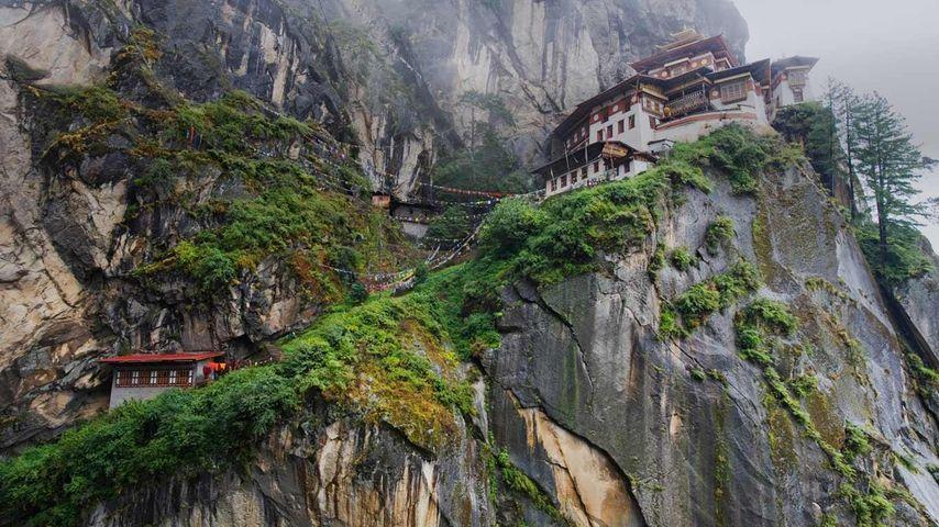 「タクツァン僧院」ブータン, パロ谷