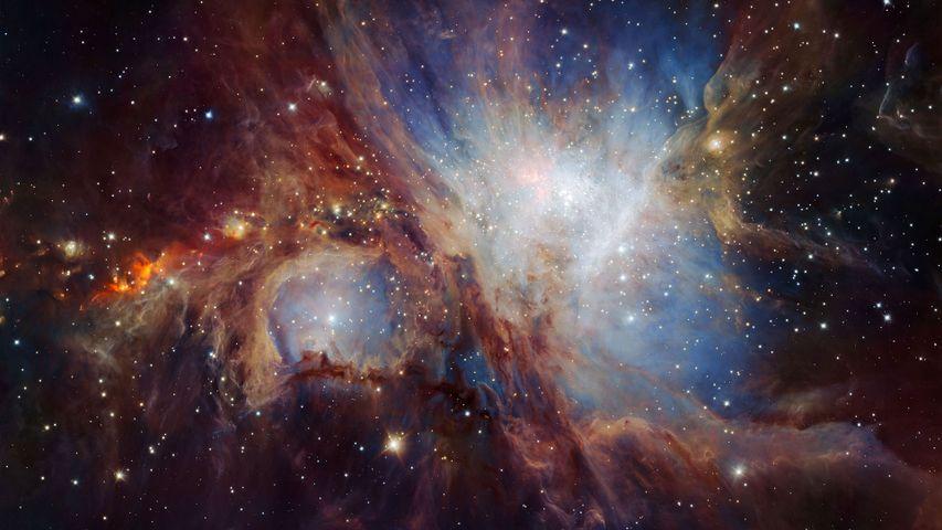 「オリオン大星雲」チリ, 超大型望遠鏡VLT