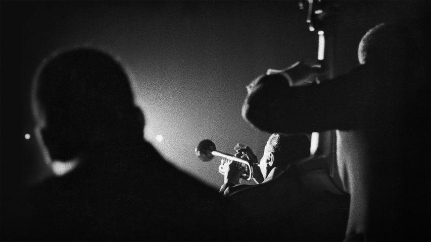 「ルイ・アームストロングの演奏」オーストリア, ウィーン