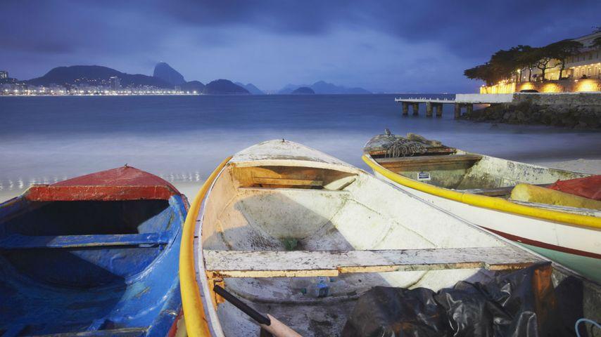 「コパカバーナ海岸」ブラジル, リオデジャネイロ