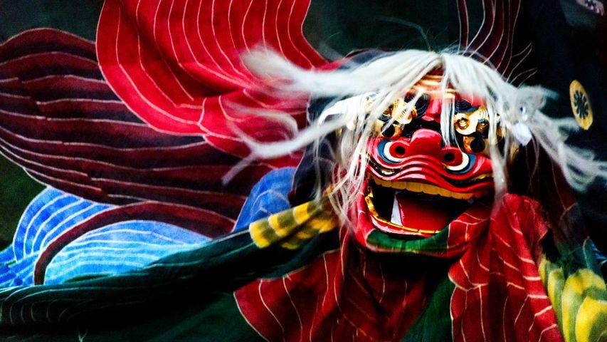 「獅子舞」岐阜県, 郡上市