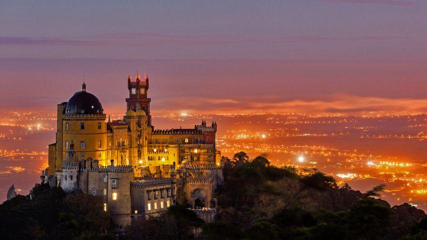 「ペーナ宮殿」ポルトガル, シントラ