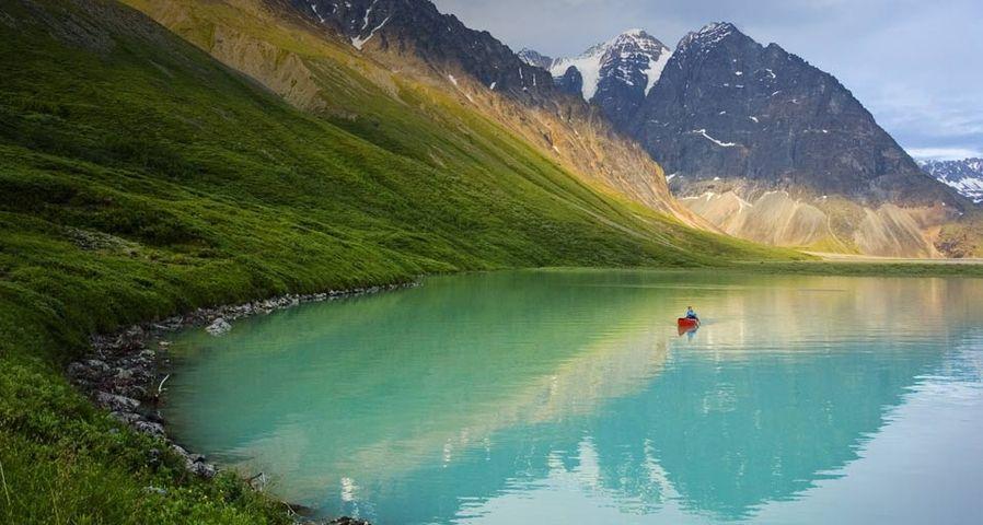 「レイク・クラーク国立公園」アメリカ, アラスカ州