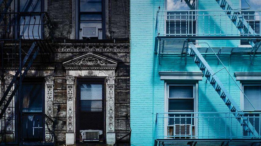 「マンハッタン1番街」アメリカ, ニューヨーク市