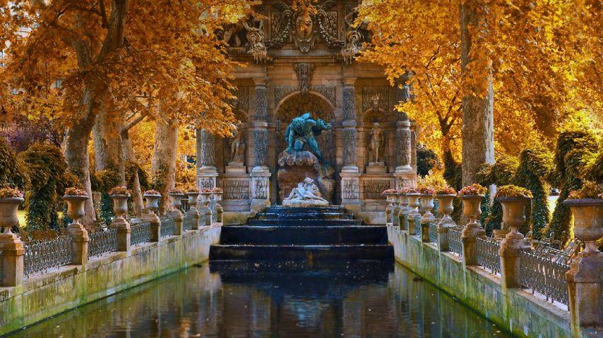 「メディシスの泉」フランス, パリ