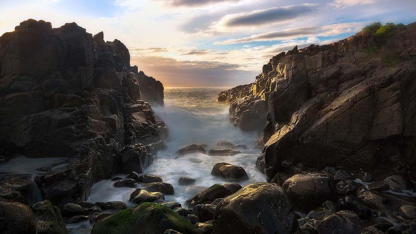 「ボンボ岬」オーストラリア, ニューサウスウェールズ州