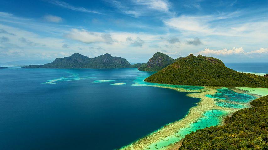 「トュン・サカラン海洋公園」マレーシア