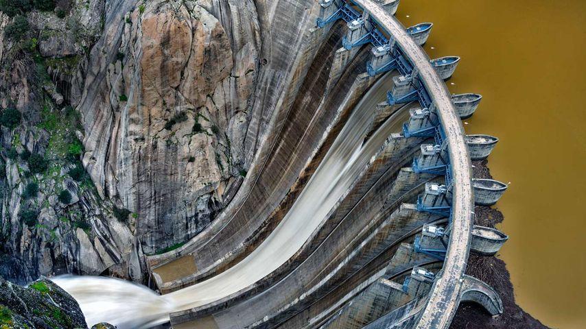 「アルデアダビラ・ダム」スペイン, サマランカ