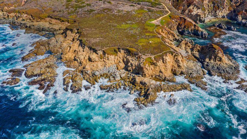 「ビッグサー海岸」米国カリフォルニア州, モントレー