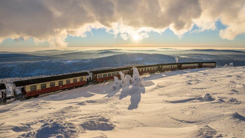 「ハルツ狭軌鉄道」ドイツ, ハルツ国立公園