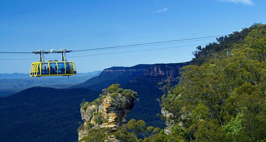 「シーニック・スカイウェイ」オーストラリア, ブルー・マウンテンズ国立公園