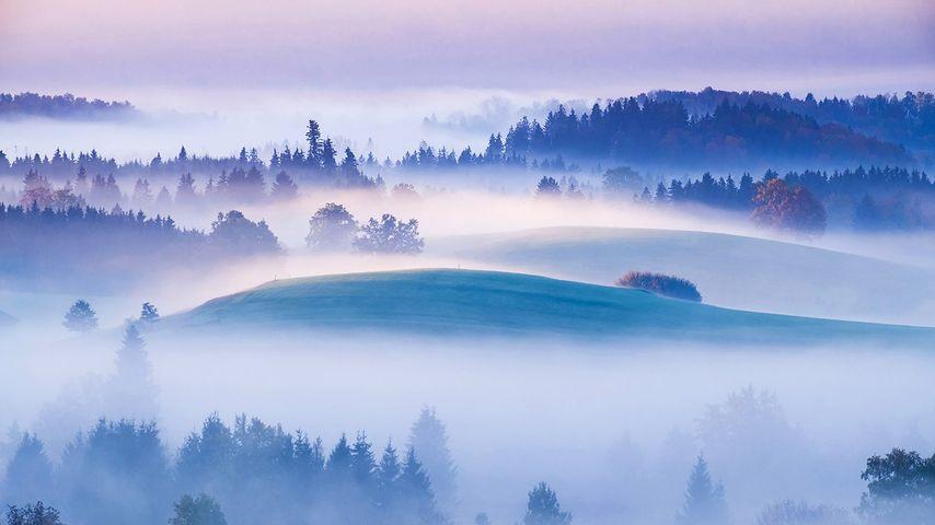 「アイドリンガー山」ドイツ, バイエルン州
