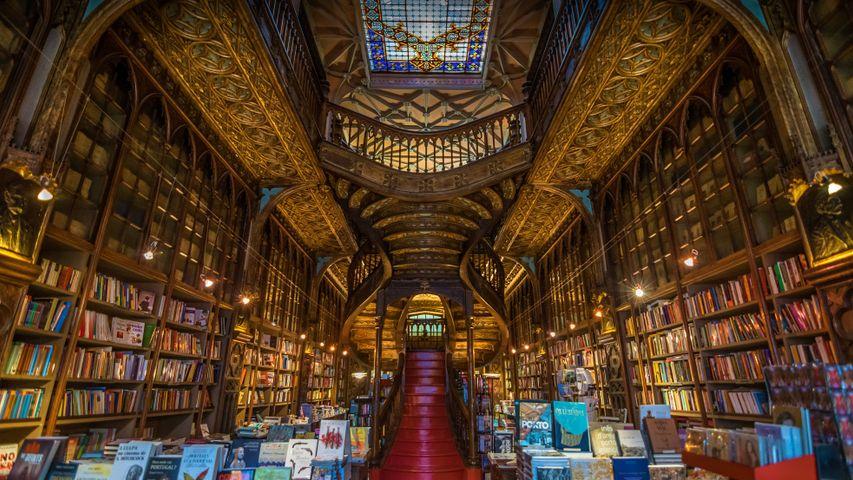 「ポルトのレロ書店」ポルトガル
