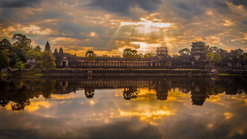 「アンコールワット」カンボジア, シェムリアップ州