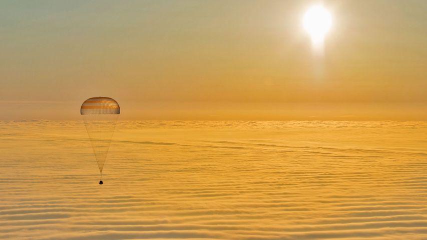 「ソユーズTMA-14Mの帰還」