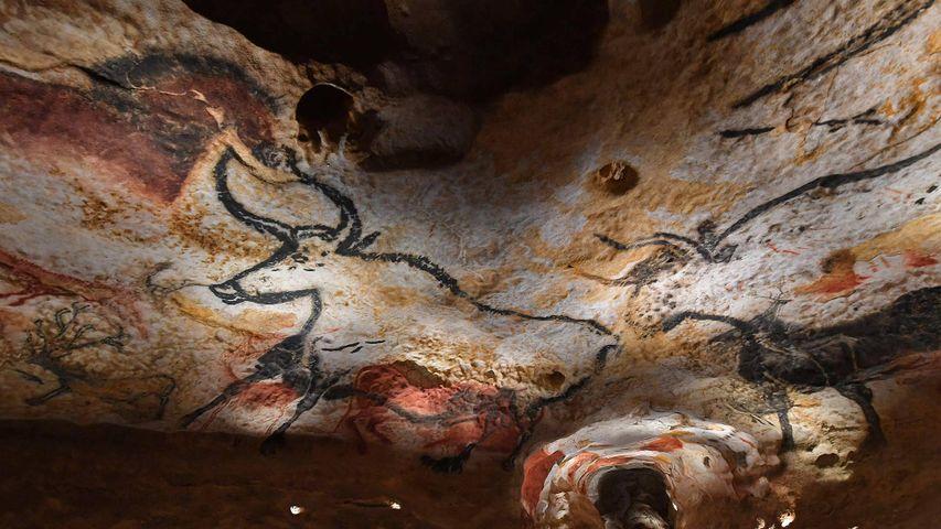 「ラスコー洞窟複製」フランス, ラスコー国際洞窟壁画センター