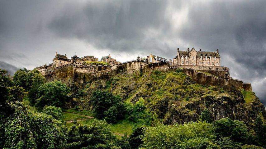 「エディンバラ城」イギリス, スコットランド