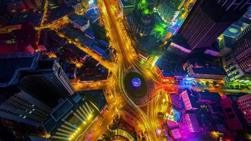「大連中山広場」中国, 遼寧省
