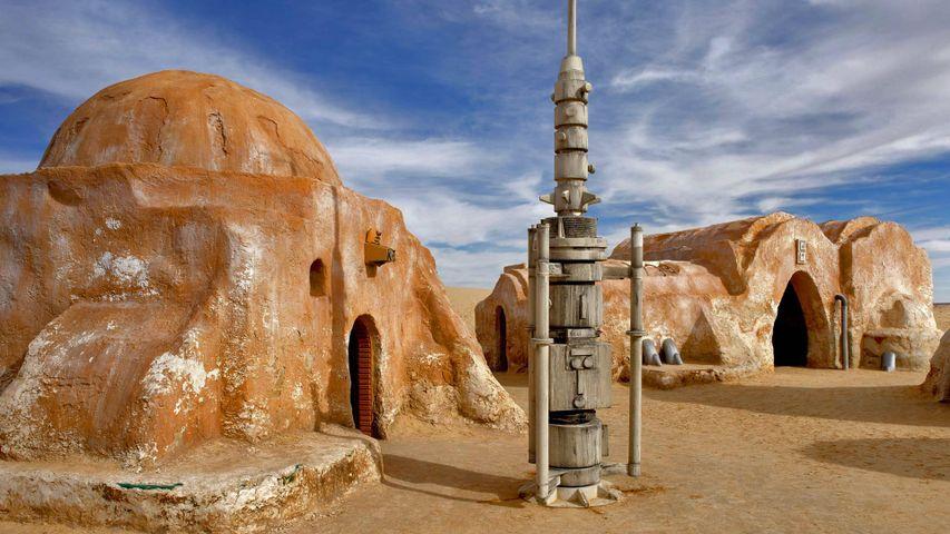 「スター・ウォーズのロケ地」チュニジア, ジェリド湖