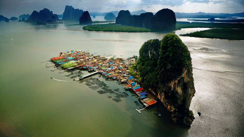 「パンイー島」タイ, パンガー湾