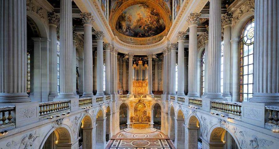 「ヴェルサイユ宮殿のチャペル」フランス, パリ