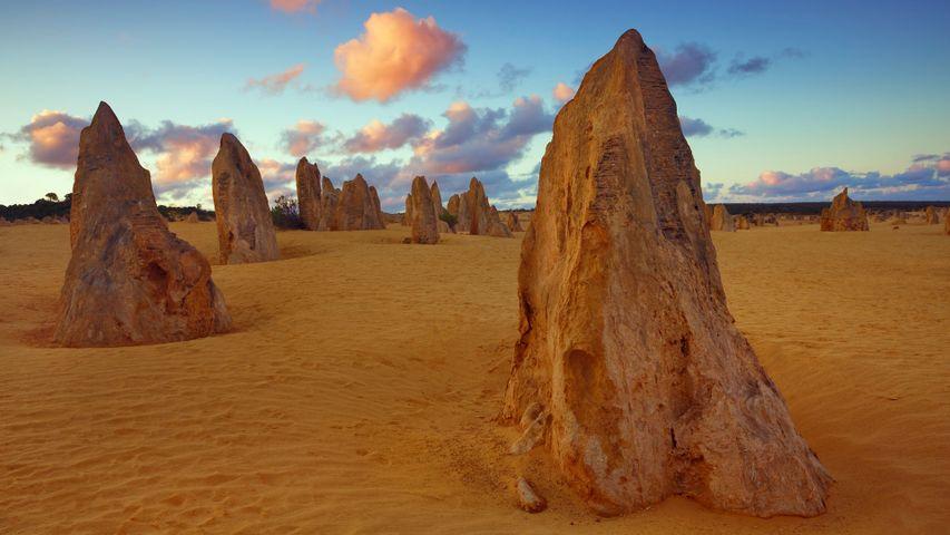 「ピナクルズ砂漠」西オーストラリア, ナンバン国立公園