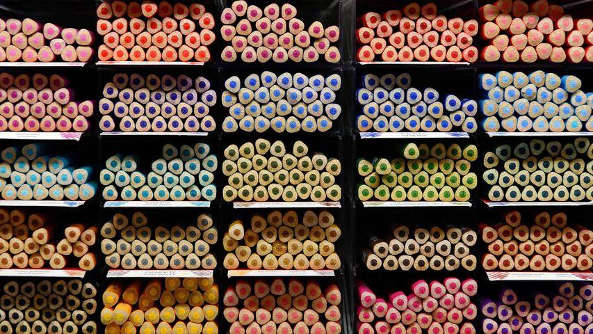 「鉛筆棚」ドイツ, バイエルン州, シュタイン