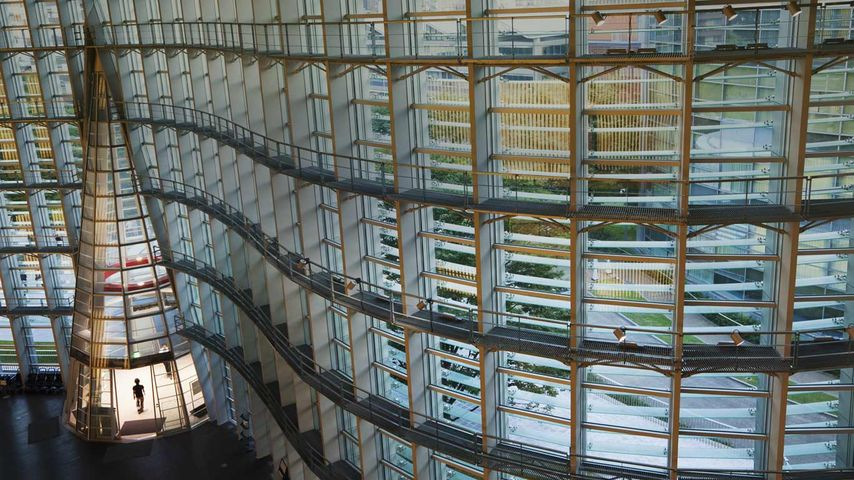 「国立新美術館」東京, 六本木