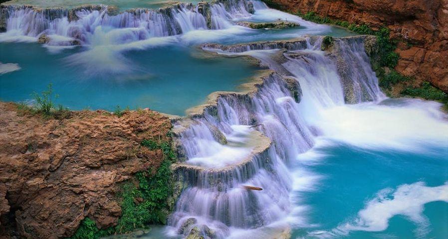 「ビーバー滝」アメリカ, アリゾナ州, グランド・キャニオン