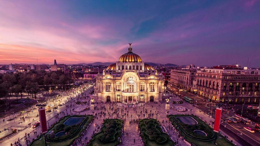 「ベジャス・アルテス宮殿」メキシコ, メキシコシティ