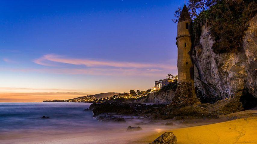 「ヴィクトリア・ビーチの塔」 アメリカ, カリフォルニア州