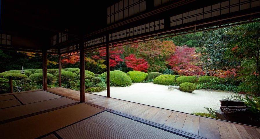 「詩仙堂」京都, 一乗寺