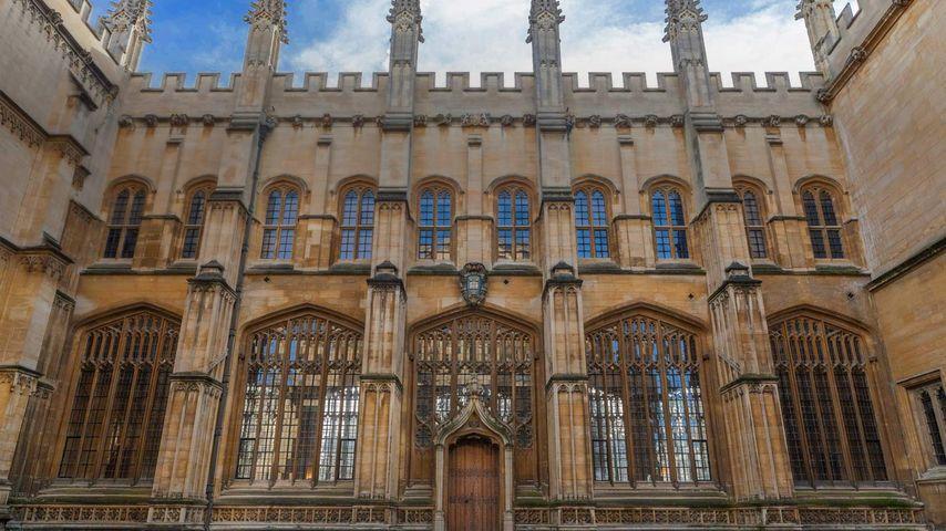 「ボドリアン図書館」イギリス, オックスフォード