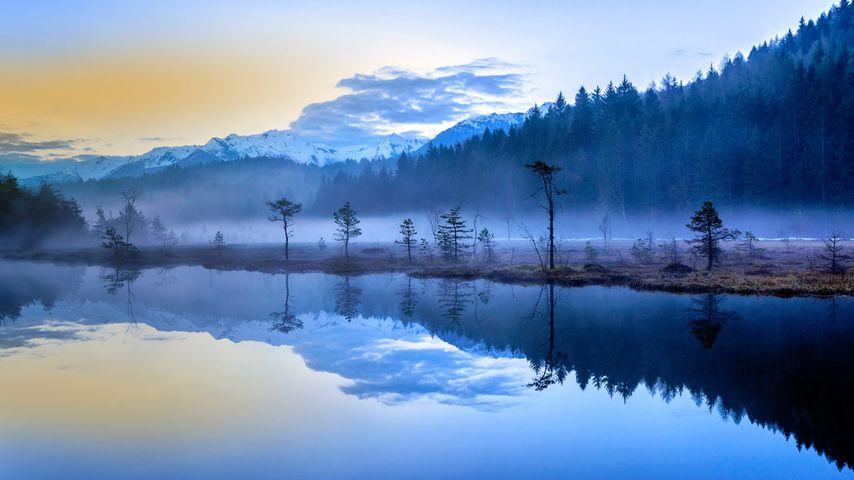 「霧の沼」イタリア, アプリーカ