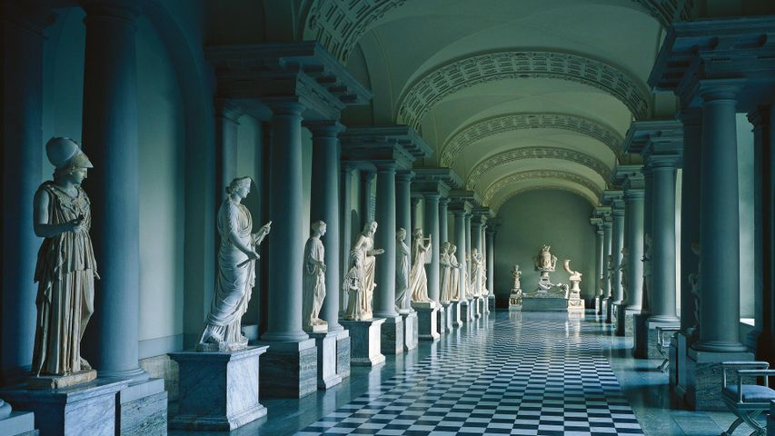 「グスタフ3世のアンティーク博物館」スウェーデン, ストックホルム宮殿