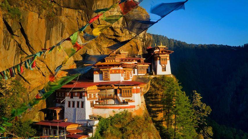 「タクツァン僧院」ブータン, パロ