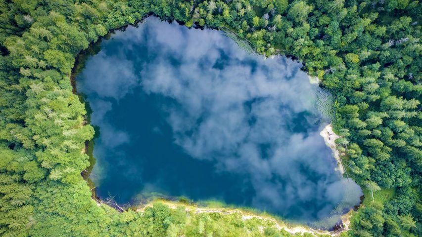 「アイベン湖」オーストリア, ザルツブルグ