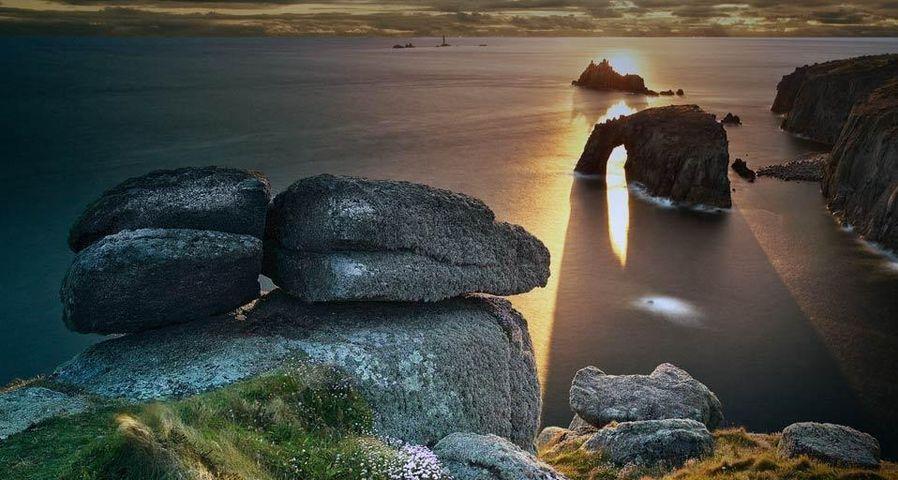「ランズエンド岬」イギリス, コーンウォール