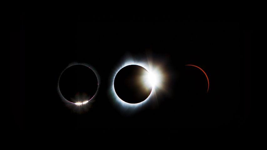 「2017年の皆既日食」米国
