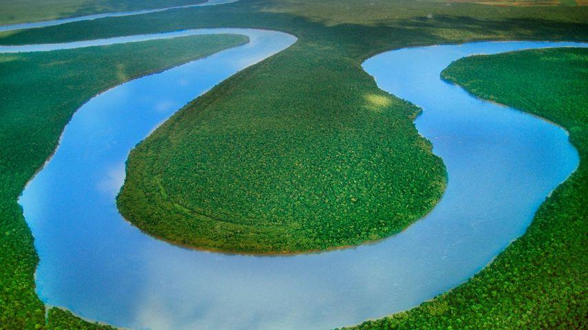 「イグアス川」ブラジル